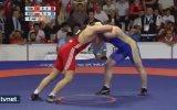 İhan Çıtak'ın Rus Sporcuya Minderi Dar Edip Altın Madalya Kazanması