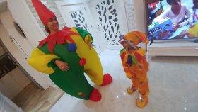 PALYAÇO KOSTÜM, hangi palyaço kostüm daha güzel oldu, eğlenceli çocuk videosu