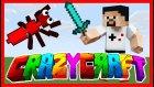 Piskopat Bir Macera Başladı, Karıncalar Saldırıyor - Modlu Survival - Crazy Craft #1