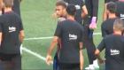 Luis Suarez, Neymar'a sataşmadan duramadı