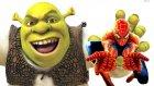 Shrek Süper Kahramanlarla Kavgada !