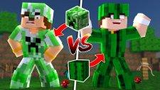 CREEPER SET VS KAKTÜS SET (Minecraft)