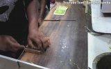 Hindistan Sokak Yemekleri  Peynirli Soğuk Sandviç