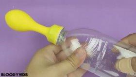 Pet Şişeyle Balon Şişirmek