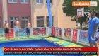 Çocukların Havuzdaki Eğlenceleri Havadan Görüntülendi