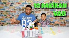10 Dakika Slime Challenge ! En Çok ve En Güzel Slime !!