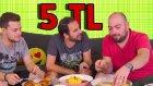 5 Liralık Malzeme ile En İyi Yemeği Kim Yapacak?