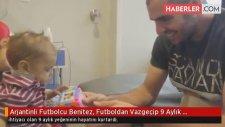 Arjantinli Futbolcu Benitez, Futboldan Vazgeçip 9 Aylık Yeğeninin Hayatını Kurtardı