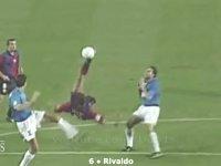 Futbolda Atılan Akrobatik Goller - Top 30