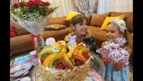 Leranın Doğum gününü kutladık, Leraya  elifin özel hediyeleri , eğlenceli çocuk videosu