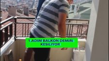 Pen PVC ile Balkon Nasıl Kapatılır 1.Adım Şahin Kardeşler Halim & Mustafa Şahin Video Aykut öğretmen