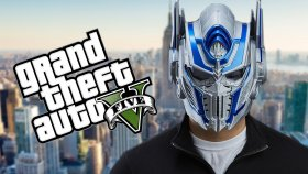 Optimus Prime Gta V Oynuyor! - Burak Oyunda