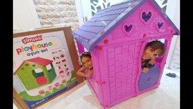 800.000 Hediyemiz Şimşek Oyun Evini Açtık, Play House Toys Unboxing