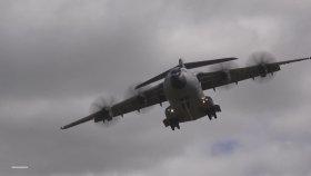 Askeri Kargo Uçağının Dikine Yükselmesi