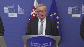 Jean-Claude Juncker: Eşim Arıyor Galiba Pardon Merkel'miş