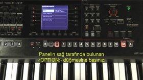 Roland E A7 Hızlı Kullanım No:2 Çabuk Öğrenme Hızlandırılmış Eğitim Vidyosu
