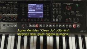 Roland E A7 Hızlı Kullanım No:4 Çabuk Öğrenme Hızlandırılmış Eğitim Vidyosu