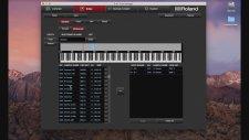 Roland E A7 Nasıl Kullanılır No:6 Kullanım Detayları / Tone Manager Editor Nasıl Kullanılır