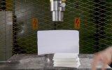 Hidrolik Pres Makinesinde 1500 Kağıdın Basılması