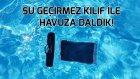 Su Geçirmez Kılıfla Havuza Daldık! - Vlog!