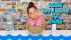 Deniz Suyu Ve Deniz Kumundan Slime Olurmu ?  ( AVŞA ADASINDAN )