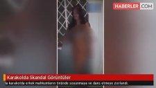 Karakolda Skandal Görüntüler