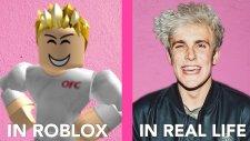 Roblox Vs Gerçek Hayat #1