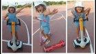 Parkta Kaykay ve Elektrikli Kaykay ile Yarışmalar, Eğlenceli Çocuk Videosu