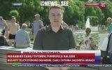 Muhabire Canlı Yayında Yumruklu Saldırı Rusya