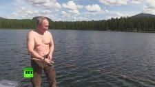 Vladimir Putin Zıpkınla Balık Avladı!