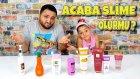 Yabancı Kozmetik Ürünlerle Slime Olurmu ( CHALLENGE )