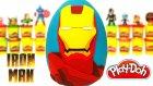 Demir Adam Sürpriz Yumurta Oyun Hamuru - Yenilmezler Oyuncakları Iron Man Avengers