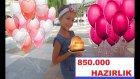 850.000  Kutlamamıza Nasıl Hazırlandık. Amara Prestij Hotel, Eğlenceli Çocuk Videosu