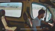 7 Kişinin Yaralandığı Minibüs Kazası Kamerada - Denizli