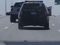 Benzin Pompasıyla Gezen Polis