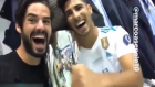 Isco ve Asensio zafer sarhoşu