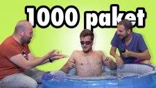 1000 Paket Patlayan Şekeri Havuza Döktük (Alper De Havuzda)