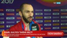 Dünya Şampiyonu Gururumuz Ramil Guliyev'den Sıcak Röportaj
