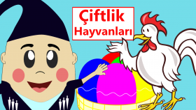 Eğitici Çizgi Filmler Türkçe | Hayvan Sesleri | Çiftlik Hayvanlarını Öğreniyoruz