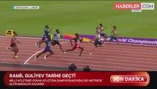 Ramil Guliyev, 200 Metre Dünya Şampiyonası'nda Şampiyon Olan 2. Beyaz Atlet Oldu