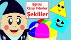 Şekiller | Şekilleri Öğreniyorum | Eğitici Çizgi Film Türkçe İzle