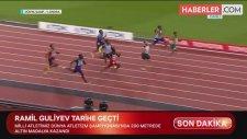 Son Dakika! Milli Atletimiz Ramil Guliyev Dünya Atletizm Şampiyonası'nda Altın Madalya Kazandı