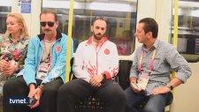 Atletizm Dünya Şampiyonu Ramil Guliyev Londra Metrosunda