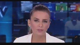 Boğazı Gıcık Tutan NTV Spikerinin Yayında Zor Anlar Yaşaması