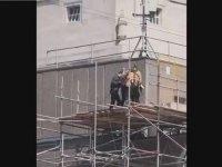 Tom Cruise'un Film Setinde Duvara Çarpması