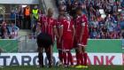 Franck Ribery kadın hakemin ayakkabısının bağcığını çözdü