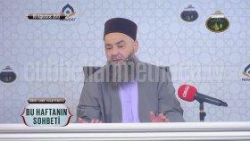Cübbeli Ahmet Hoca: Tuvalet Taşı Allah'a Müracaat Etti