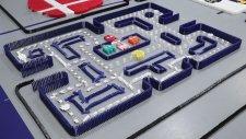 12 Dakikada 250,000 Domino Taşının İnanılmaz Yıkılma Macerası
