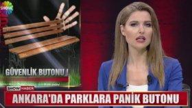 Ankara Parklarına Panik Butonu Geliyor