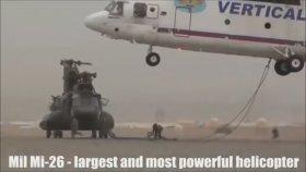 Mil Mi-26 - Dünyanın En Güçlü ve En Büyük Helikopteri
